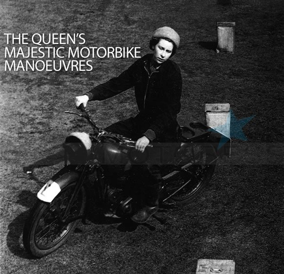 Queen Elizabeth on Motoress