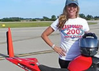 Motorcycle Speed Queen Valerie Thompson Shatters Ohio Mile