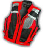 Women's High Vis Motorcycle Vests-Time To Reflect