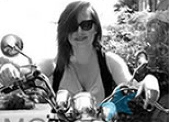 Lucy's Solo Motorcycle Ride for Children