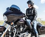 Woman and Motorcycles Rushmore