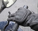 Gloves on Motoress