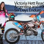 Motorcycle Enduro Expert Victoria Hett Ready for ISDE
