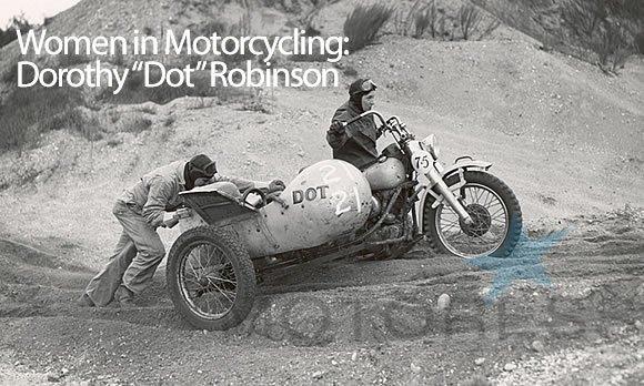 Dot Robinson Motor Maids on MOTORESS