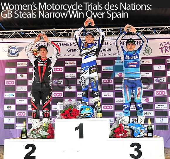 Womens Motorcycle Trials Motoress