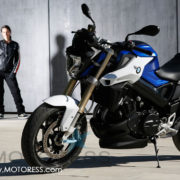 BMW F800R on MOTORESS