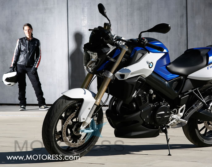 BMW F800R on MOTORESS