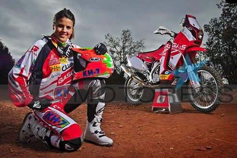 Dakar Rally Motorcycle Women Riders on MOTORESS