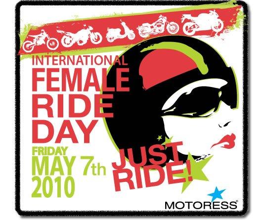 Woman Motorcycle Rider