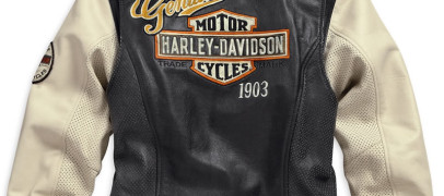 Harley-Davidson New Womens Rallyrunner 3-IN-1 Leather Jacket