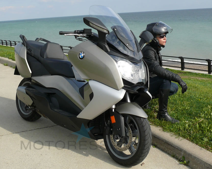 BMW C650GT Scooter - MOTORESS