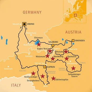 Edelweiss Women Only Motorcycle Tour