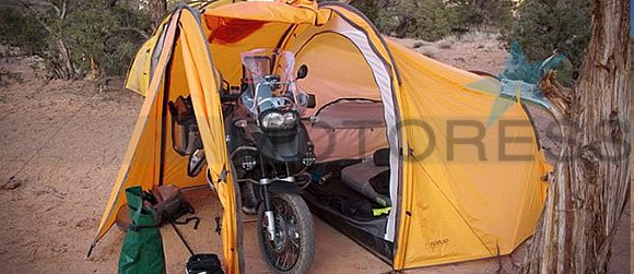 Tent For Motorcycle Camping and Touring | Woman Motorcycle ...