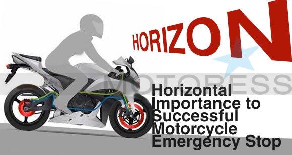 Motorcycle Emergency Stop on MOTORESS