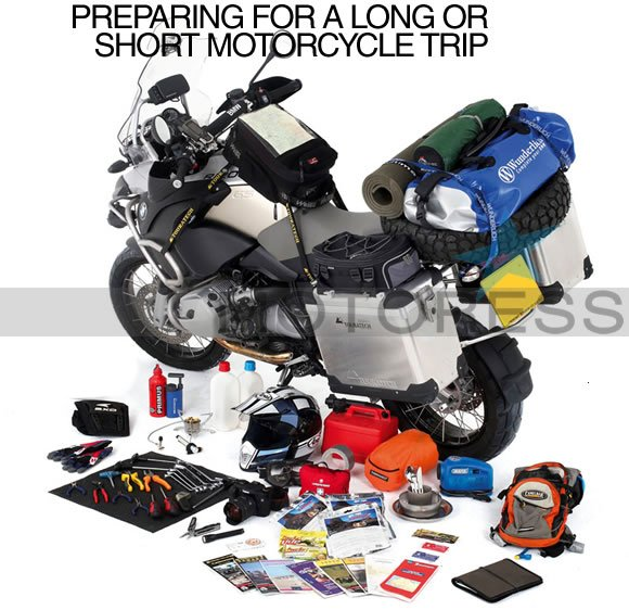 Preparing for a Motorcycle Trip on MOTORESS