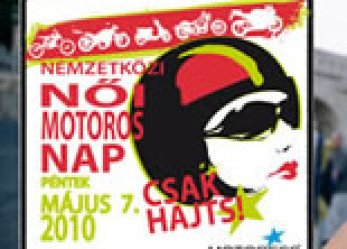 International Female Ride Day Logo Translated For Hungary