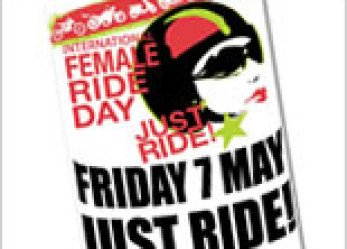 International Female Ride Day 2010 Windscreen Poster