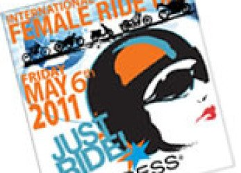 International Female Ride Day 2011 Logo Unveiled!