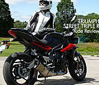 Triumph Street Triple R Ride Review -Total Satisfaction