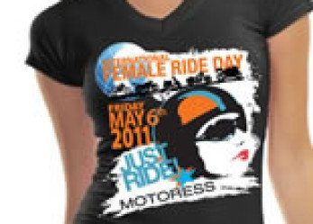 International Female Ride Day T-Shirt