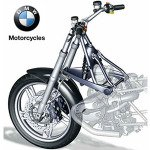 BMW Motorcycle Telelever Fork System Gives Performance Leverage