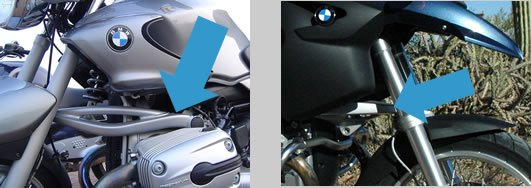 BMW Motorcycle Telelever ON Motoress