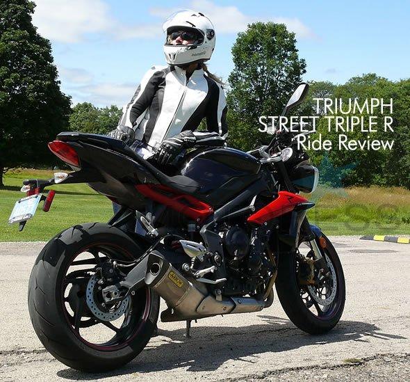 Triumph Street Triple R Review on Motoress