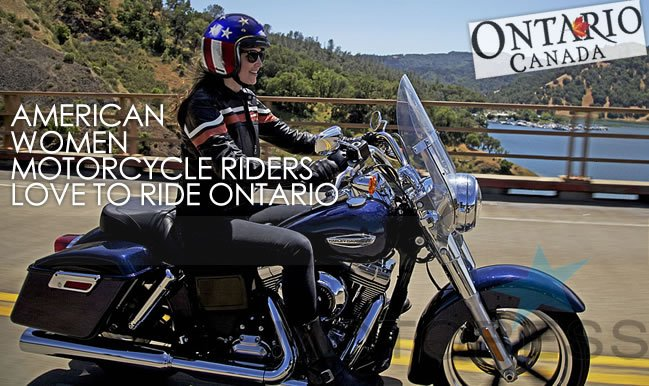 Women Motorcycle Riders Love to Ride on Motoress