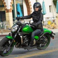 Kawasaki Vulcan S Woman Motorcycle Rider