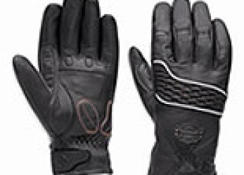 Harley-Davidson Dual Chamber Women's Motorcycle Leather Gloves