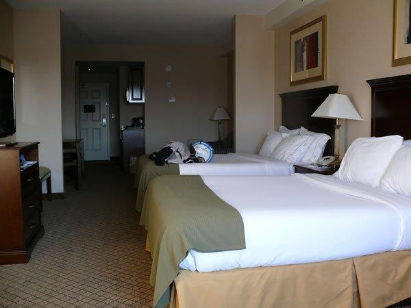 Room at the North Bay Holiday Inn