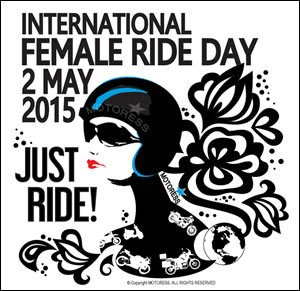 International Female Ride Day Logo 300 X 291