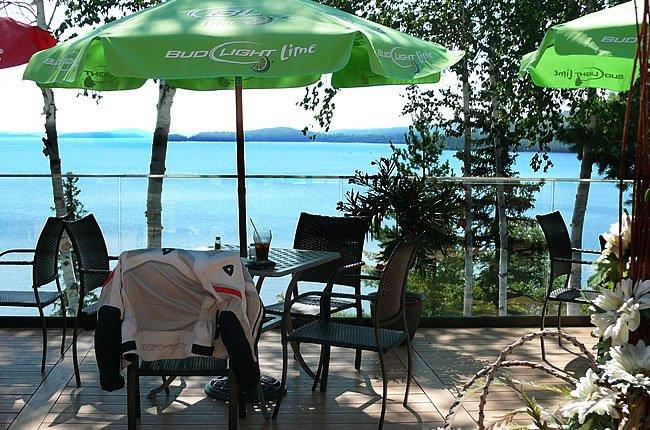 My view from La Bannik Restaurant