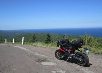 Ride Lake Superior on a Motorcycle. You Will Love the Roads!