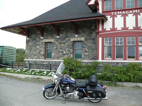 Historic Train Station in Temagami