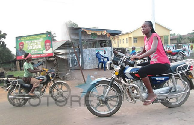 Women enjoy Motorcycling