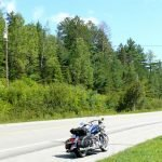 Riding the Temiskaming Shores of Ontario and Quebec