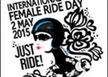 International Female Ride Day 2015 Logo Icon