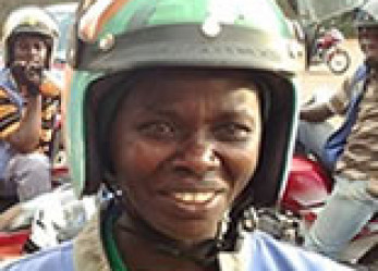 Meet Rwanda's Only Woman Motorcycle Taxi Driver  / Rider