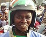 Women Motorcycle Rwanda Taxi Motoress