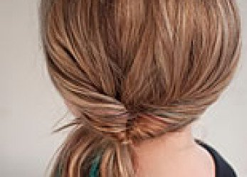 How to Create a Flipped Ponytail for Fabulous Helmet Hair Style
