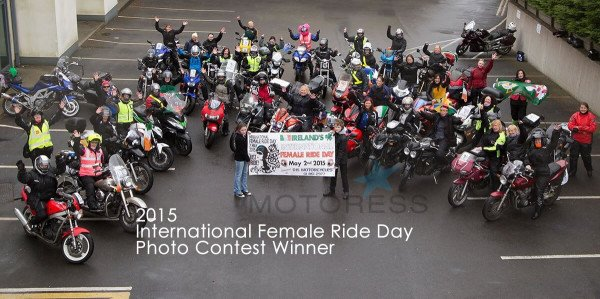Motoress Women Motorcycle IFRD Contest winner