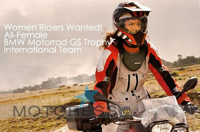 Women's BMW Motorrad GS Trophy Team on MOTORESS