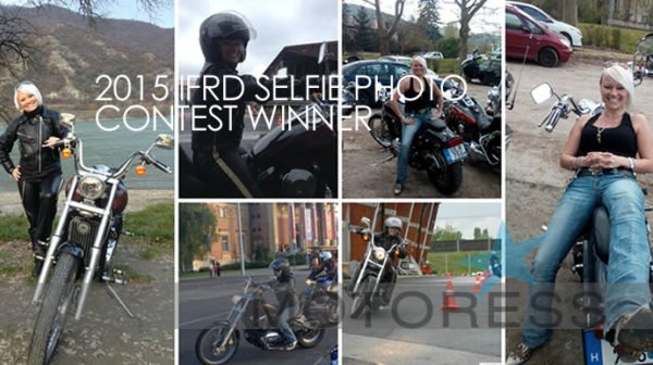 IFRD Selfie Winner Tutti on Motoress