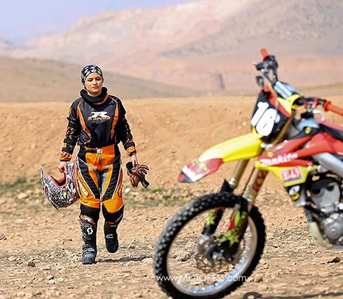 Behnaz Shafiei Changing Iran's Women And Motorcycles MOTORESS