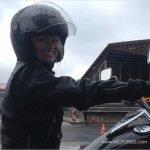 International Female Ride Day 2015 Selfie Photo Contest Winner Tutti from Budapest Hungary
