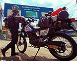 Vaune Phan's solo ride on Motoress