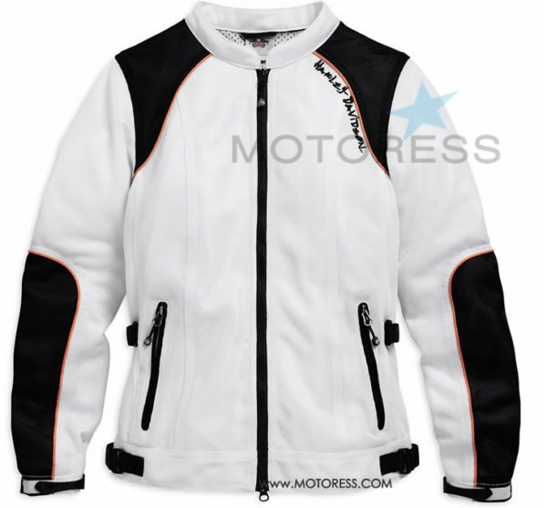 The end of summer often brings the hottest, driest riding weather of the season. Harley-Davidson MotorClothes / motorcycle jackets has women motorcycle