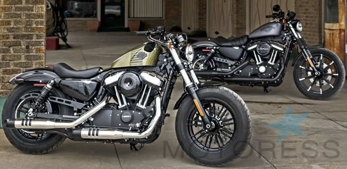 Harley-Davidson 2016 Line up On MOTORESS