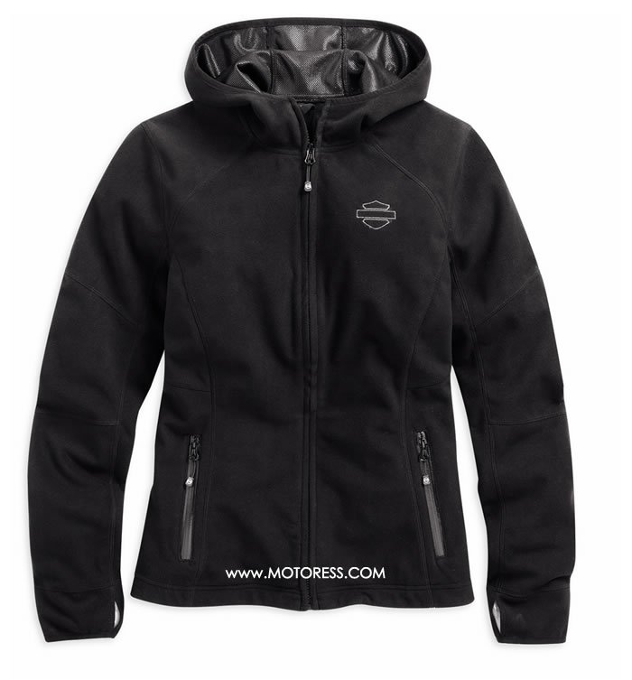 Harley-Davidson Women's Waterproof Fleece Jacket on MOTORESS